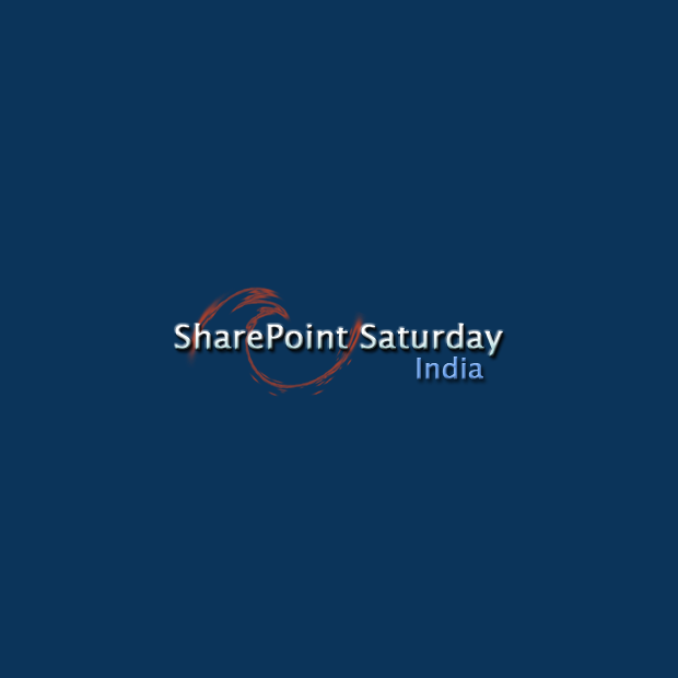 I'm speaking at SharePoint Saturday India