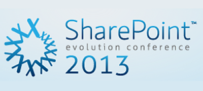 SharePoint Evolution Conference 2013