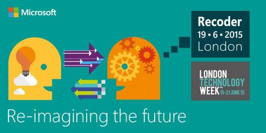 Speaking at Microsoft Recoder 2015