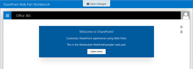 The Future of SharePoint paradigm series – Using Visual Studio 2015 to build a SharePoint Framework client web part